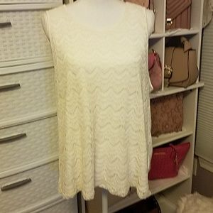 Simply Styled Cream XL Blouse